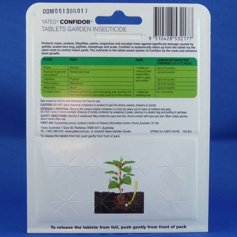 Buy Confidor Tablets Garden Insecticide on The Plant Hub
